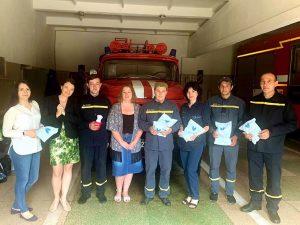 Пожежники м. Українка у справі